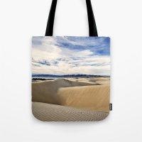 Sand Dunes And Ocean Vie… Tote Bag