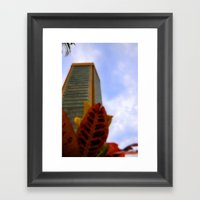 Strong Tower Framed Art Print