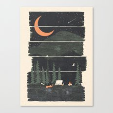 Wish I Was Camping... Canvas Print