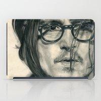 Secret Window Traditional Portrait Print iPad Case