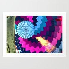 Inflation Art Print