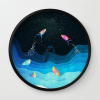 Come to reach the stars Wall Clock