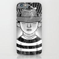 Fisher Man B/W iPhone 6 Slim Case