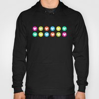 Colorful hearts  Hoody