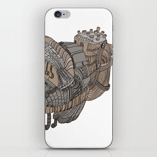 Space Bird iPhone & iPod Skin