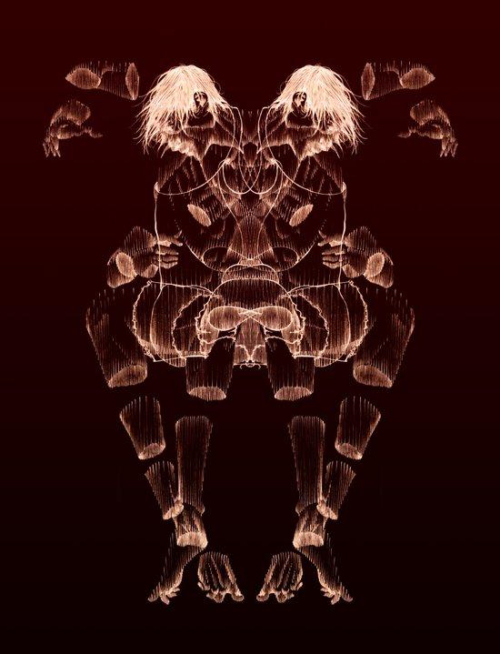 The Beast Inside 2 Art Print