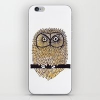 Owl II iPhone & iPod Skin
