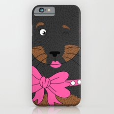 Dog Love,  kids wall art, Cute, fun prints of animals in love, Mix and Match Them!! Slim Case iPhone 6s
