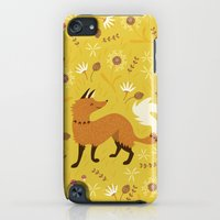 iPhone Cases featuring Cute as a Fox by Poppy & Red
