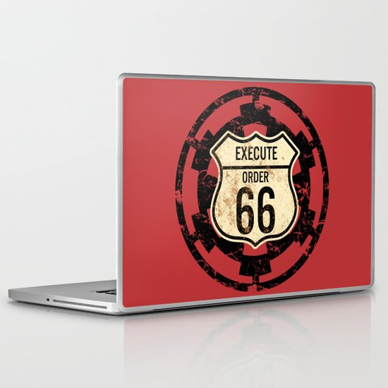 Execute Order 66 Laptop & iPad Skin