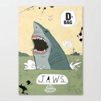 Jaws Canvas Print