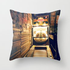 Meanwhile, Somewhere In Brooklyn... Throw Pillow