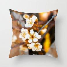 Nature Pixels No2 Throw Pillow