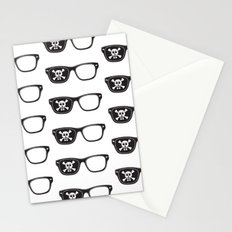 Hipster Pirate Stationery Cards