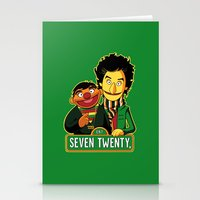 E Is For Entertainment Stationery Cards