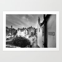 A View from Covet Hill Art Print