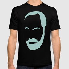 FREUD Black Mens Fitted Tee SMALL