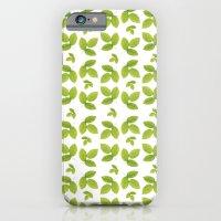 Green Ash Leaf iPhone 6 Slim Case