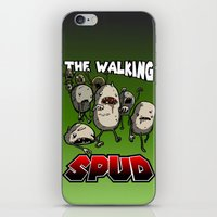 The Walking Spud iPhone & iPod Skin