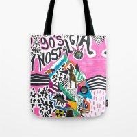 90's Nostalgia  Tote Bag