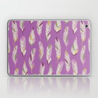 Tropical Feathers Laptop & iPad Skin
