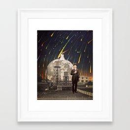 Framed Art Print - The Distance Between - TRASH RIOT