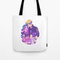 Pastel Goth Haruka & Mic… Tote Bag
