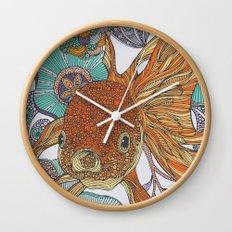 Little Fish Wall Clock
