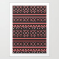 Christmas Jumper 10 Art Print