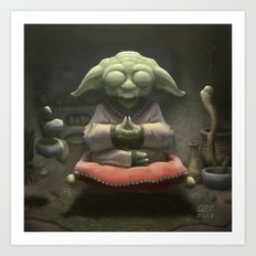 Yoda Art Print