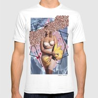 Feminism 1 Mens Fitted Tee White SMALL