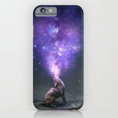 All Things Share the Same Breath (Coyote Galaxy) iPhone 6 Slim Case