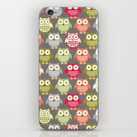 Forest Friends Owls iPhone & iPod Skin