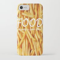food iPhone & iPod Cases featuring Food by The Fifth Motion