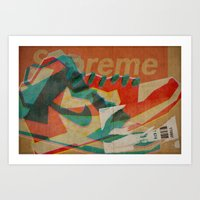 Nike Dunk Hi Pro SB Supr… Art Print