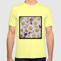 Mum Mens Fitted Tee Lemon SMALL
