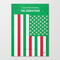 No028 My Godfather Minim… Canvas Print