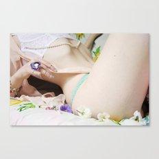 Poetic body figure Canvas Print