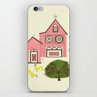 Farm House Pink iPhone & iPod Skin