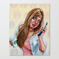 American Woman Canvas Print