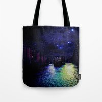 Hamburg city Tote Bag