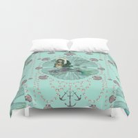 Mermaid Deco Duvet Cover