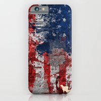 America Map  iPhone 6 Slim Case