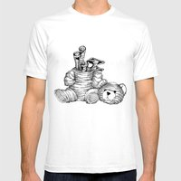 Bearer Bonds Mens Fitted Tee White SMALL