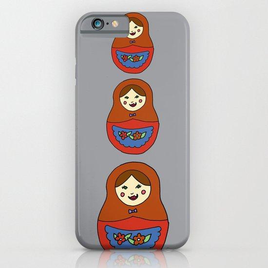 3 Matroyshkas iPhone & iPod Case