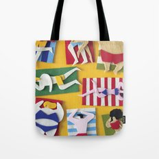 Public Beach Tote Bag