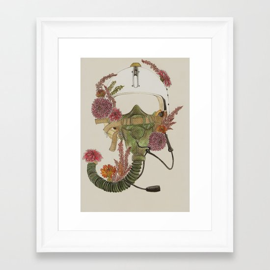 To Fly Framed Art Print