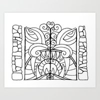 Threshold Guardian Art Print