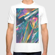 IRIDESCENT Mens Fitted Tee White SMALL