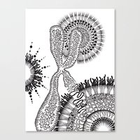 Chromosome Canvas Print